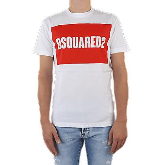 Dsquared2 T-shirt Wit S74GD0720100 Top