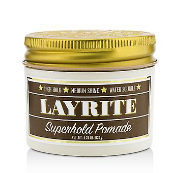 Superhold pomade (high hold, medium shine, water soluble) 213004 120g/4.25oz