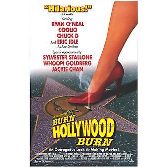 En Alan Smithee Film brenne Hollywood brenne filmen plakatutskrift (27 x 40)