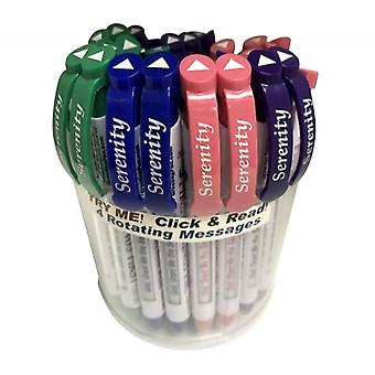 09227-15, Greeting Pen Serenity Prayer Pen - 36 Pack (09227-15)