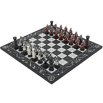 فرسان الهيكل الصليبية مرسومه باليد الشطرنج تحت عنوان مجموعه من قبل إيتالفاما
