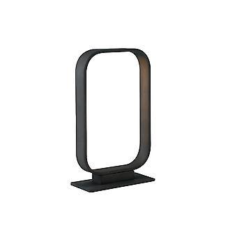 Geïntegreerde LED Tafelbol Lamp Frame, Mokka, 4000K