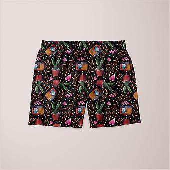 Photography pattern shorts