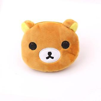 Soft Plush Panda, Dog, Rabbit, Monkey, Cartoon Women Coin Purse &mini Wallet
