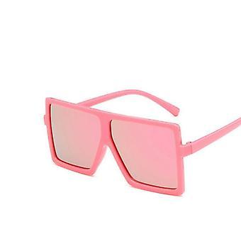 كبيرة الحجم النظارات الشمسية مربع مهرجان الطفل الشرير Uv400 نظارات