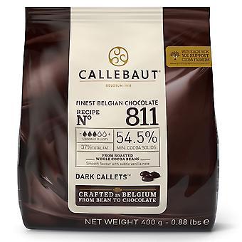 Callebaut 54% Dark Chocolate '811' Callets