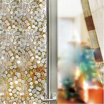 3d Self Adhesive No Glue Decorative Anti Uv Glass Sticker