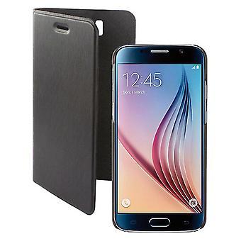 Folio Matkapuhelinkotelo Samsung Galaxy S6 KSIX Magnet Musta