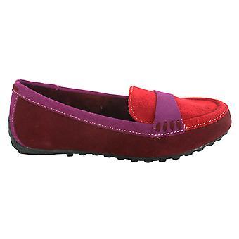 Hush Pennut Naisten Dalby Moccasins Punainen Mode Moc Toe Slip On Shoes H507000 D22