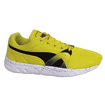Puma Trinomic XT S Mens Yellow Lace Up Trainers Running Shoes 359872 02 D29