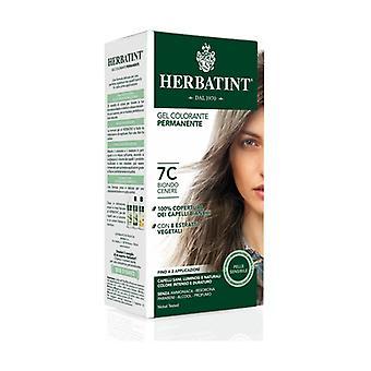 الشعر تلوين هلام دائم صبغة 7C الرماد شقراء 150 مل (الرماد شقراء)