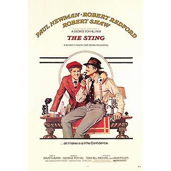 スティング映画ポスター印刷 (27 × 40)