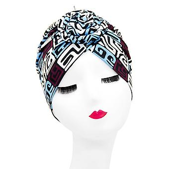Indian Arab Wrap Women Head Scarf Turban Caps Trendy Printed Hijab & Inner