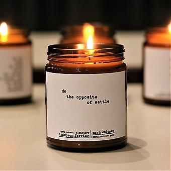 Handmade Perfumed Essential Oil Candles