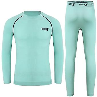 Winter Ski Thermal Underwear, Functional Shirts And Pants Sports Sets