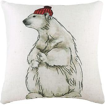 Evans Lichfield Polar Bear Cushion Cover