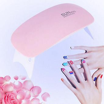 Mini 6w Led Uv Nail Lamp Gel Nail Polish