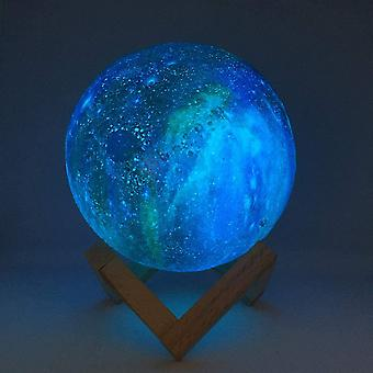 Color Changing & Remote Control - 3d Printing Moon Lamp