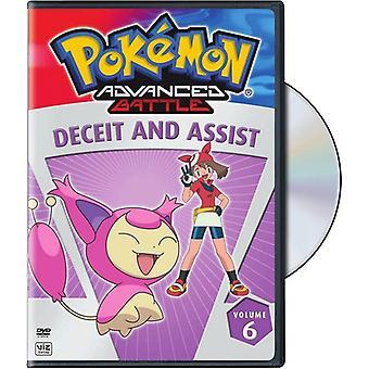 Pokemon Advance Battle : Vol. 6-Deceit & Assist [DVD] USA import