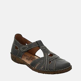 Rosalie 29 farkut - josef seibel sininen nahka naisten sandaali
