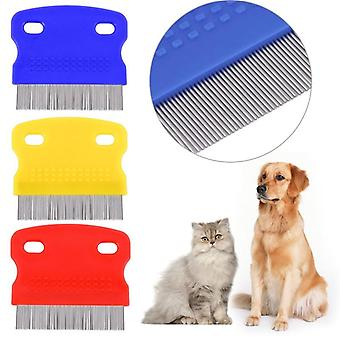 Pet Dog Comb Remove Flea Hair Brush