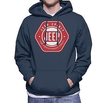 Jeep Spirit For Adventurous Souls Men's Hooded Sweatshirt