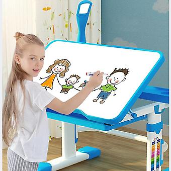 Monitoiminen lasten opiskelutehtävä ergonominen säädettävä työpöytä ja tuoli