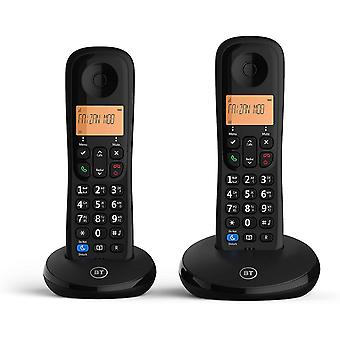 Everyday Cordless Home Phone with Basic Call Blocking, Twin Handset Pack