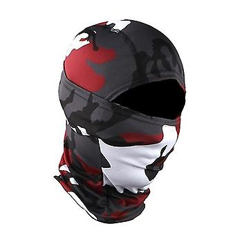Taktinen naamiointi Balaclava Full Face Mask Wargame Hunt Shoot Army Bike