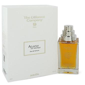 Adjatay Cuir Narcotique Eau De Parfum Spray By The Different Company 3.3 oz Eau De Parfum Spray