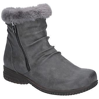 Fleet & Foster Aurora Womens Ladies Ankle Boots Grey UK Size