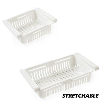 Adjustable Stretchable Refrigerator Organizer, Drawer, Basket Drawers,