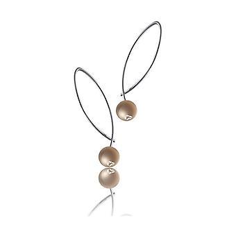 Boucles d'oreilles pour dames Time Force TS5054P (3 cm)