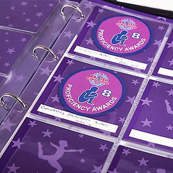 My Proud Moments Badge Holder Extra Page - Gymnastics