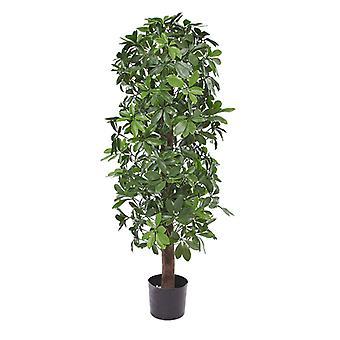 Sztuczne drzewo kolumnowe Schefflera 120 cm anty-UV