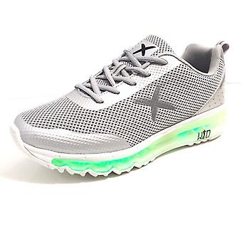 Men's Shoes Women's Sneaker Wize & Ope With Multicolor LED Grey Us17wo01