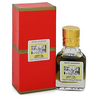 Jannet El Naeem Tiivistetty Hajuvesi Öljy Ilman Alkoholia (Unisex) Sveitsin Arabian 0,3 oz Tiivistetty Hajuvesi Öljy ilman alkoholia