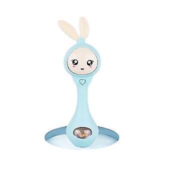 Baby Music Flashing Teether Rattle Rabbit Hand Bell