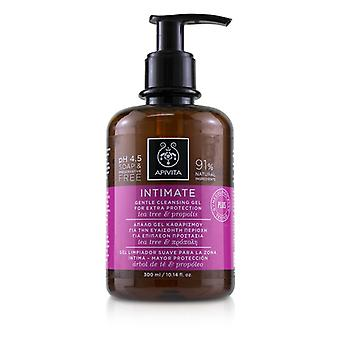 Apivita Intimate Gentle Cleansing Gel with Tea Tree & Propolis (For Extra Protection) 300ml/10.14oz