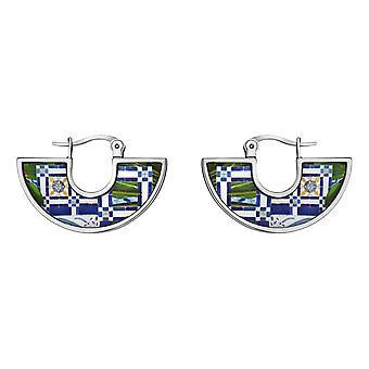 Christian Lacroix XF31014L Earrings - Earrings Earrings; Ears M Tal Silver and Email Woman