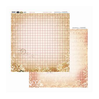 Couture Creations - Pläd och musik 12x12 tum Dubbelsidiga förpackningar med 10 ark