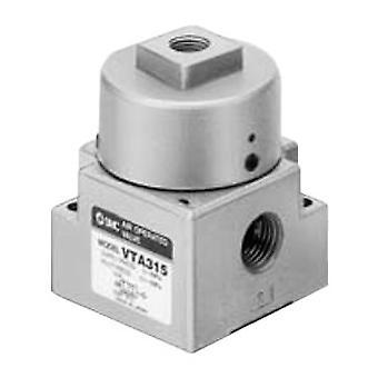 SMC Vta315 Rc 1/4 In 3/2 Spring/Pilot pneumatisches Regelventil, 392.6Nl / Min