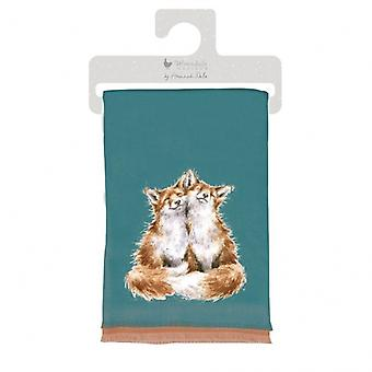 Wrendale Designs Fox Zimní šátek