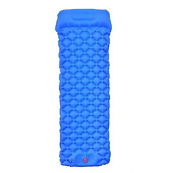 Draagbare slaapkussen camping opblaasbare matras met kussens reismat opvouwbaar bed