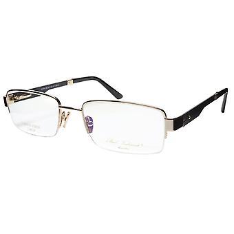 Paul Vosheront Eyeglasses Frame PV374 C1 Gold Plated Acetate Italy 56-20-145 33
