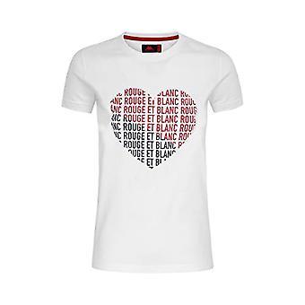 Kappa CASSANDRE T-shirt Dam vit/Röd/Blå