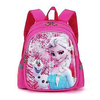 Disney kindergarten school bag frozen elsa backpack for children