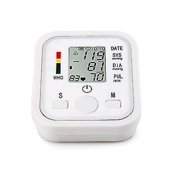 White digital electronic blood pressure monitor cai111