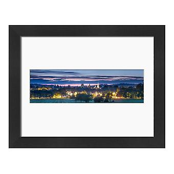 Oxford from South Park, Oxford, Oxfordshire, England, United Kingdom, Europe. Large Framed Photo..