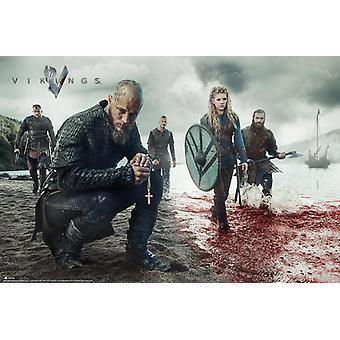 Wikingowie Krajobraz Krwi Maxi Plakat